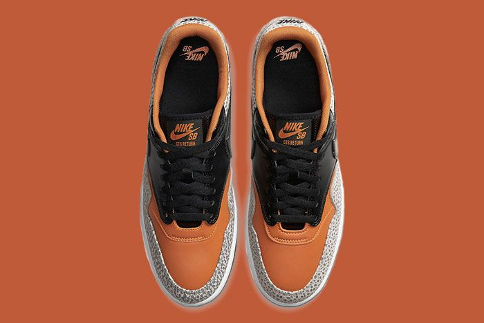 Nike Sb Gts Return Premium Safari Cv6283 001 Top