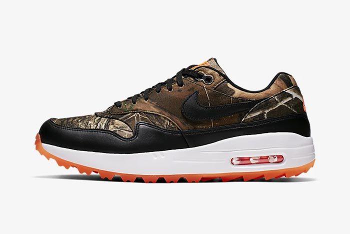 Nike Air Max 1 Golf Realtree Camo Lateral