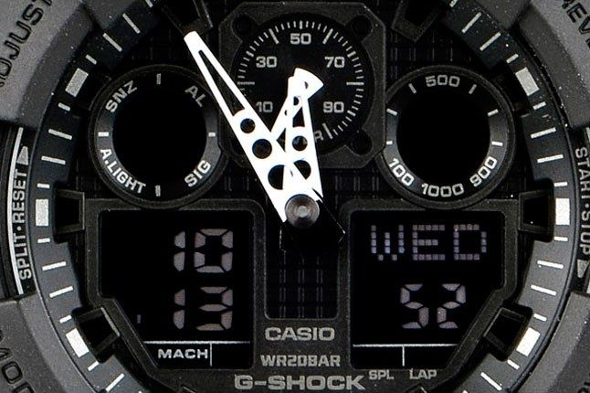 Qubic G Shock The Beacon Ga 100 10 1