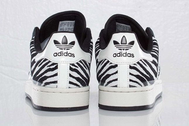 Adidas Originals Superstar 2 Zebra Heels 1