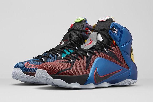 Nike Lebron 12 What The 6