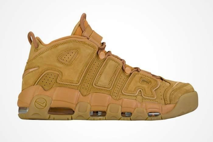 Nike Air More Uptempo Wheat 5