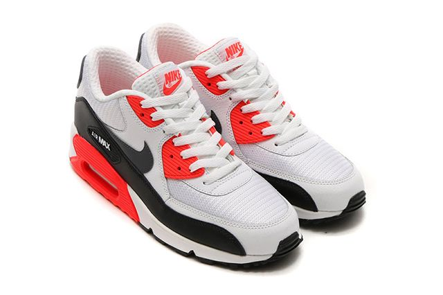 Bright Crimson Nike Air Max 90 Essential 4