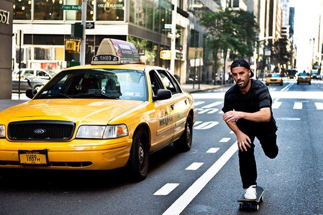 Gino Pushing Nike Sb Nyc 2012 1