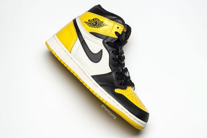 Air Jordan 1 Yellow Toe Ar1020 700 Release Date Side