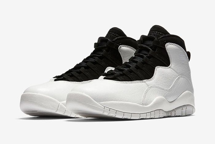 Air Jordan 10 Im Back Summit White Black 7