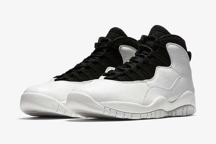 Air Jordan 10 Im Back Summit White Black 7