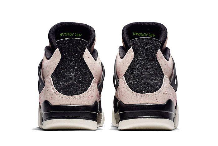Air Jordan 4 Silt Red Heel