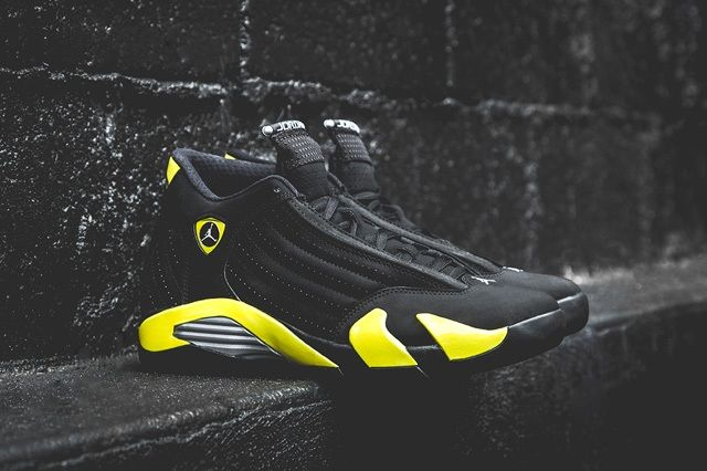 Air Jordan 14 Thunder Bump 2