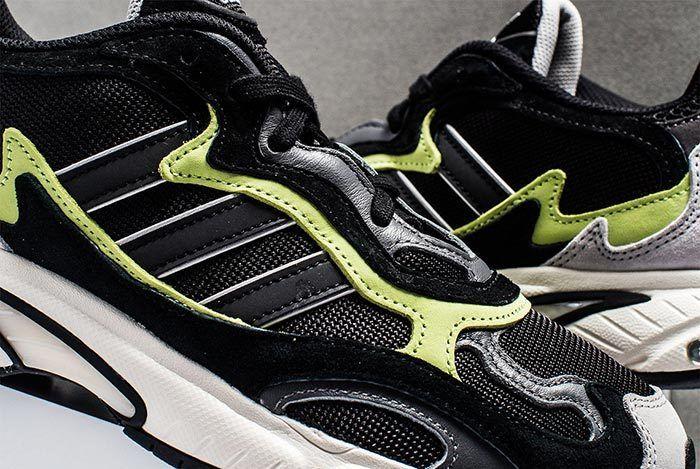 Adidas Temper Run Black Grey Neon 3