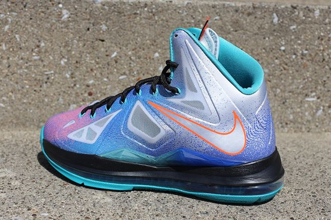 Nike Lebron X Pure Platinum 1