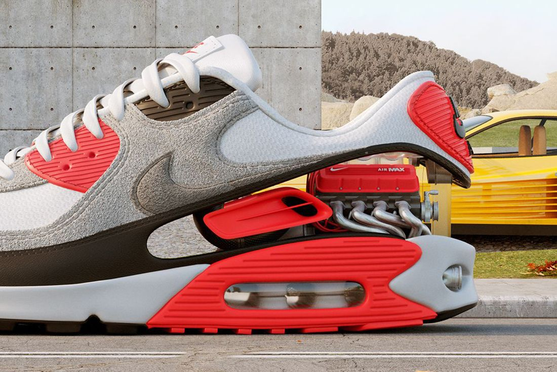 Where to Buy the Air Max 90 'Radiant Red' - Sneaker Freaker