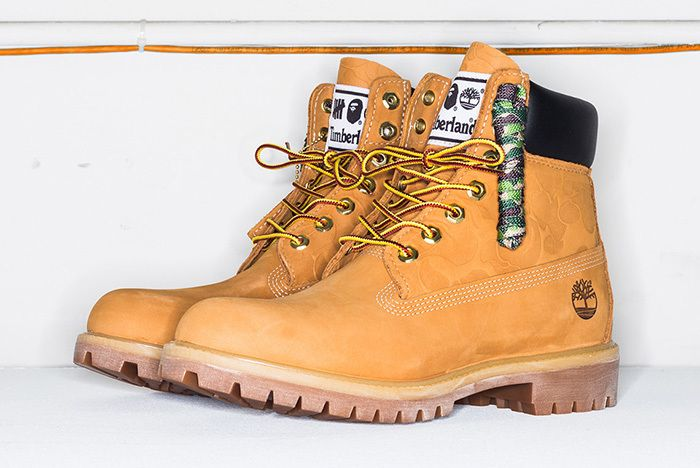 Bape Undefeated Timberland 6 Inch Boot 1