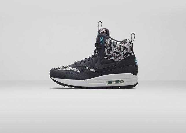 Nike X Liberty Air Max 1 Sneakerboot Rrp 200