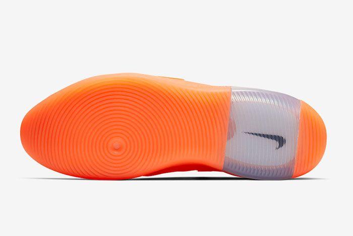 Nike Air Fear Of God 1 Orange Pulse Sole