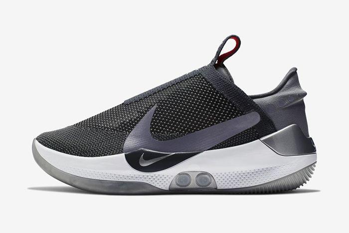Nike Adapt Bb Dark Grey Multi Color Ao2582 004 Release Date Side Profile