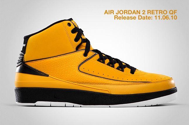Air Jordan 2 Retro Qf Yellow 2
