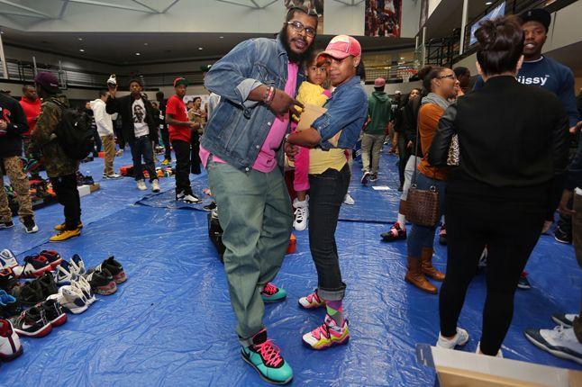 Sneaker Con Atlanta 2013 Family 1