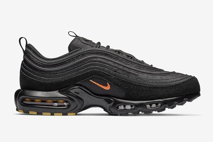 Nike Air Max Plus 97 Black Orange Medial