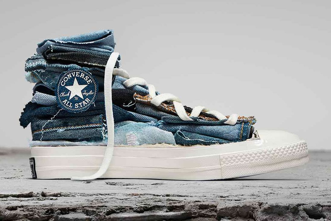 Converse Chuck Taylor Tri Denim Renew Right