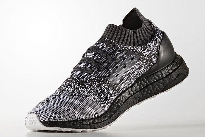 Adidas Ultraboost Uncaged Black White 3