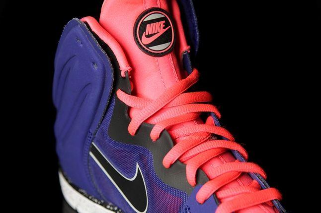 Nike Dunk High Free Blue Pink Tongue Profile 1