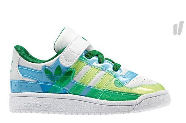 Adidas Kids Orig Green White 1