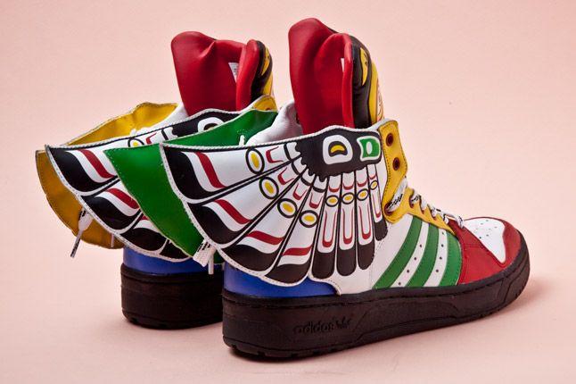 Adidas Originals Js Wings Totem Pole Heel 1