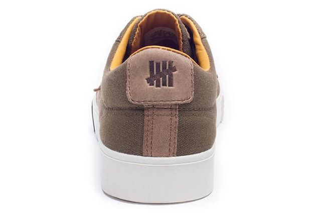 Undefeated Converse Lo Brown Heel 1