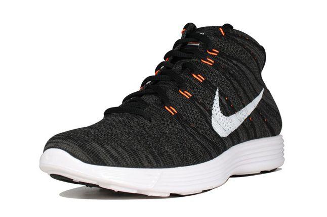 Nike Flyknit Chukka Orange Zest Front Quarter 1