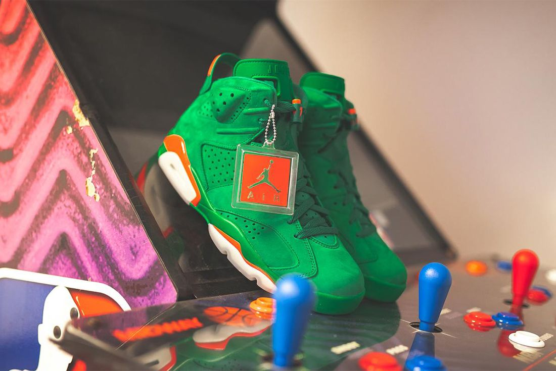 Gatorade X Air Jordan 6 Pine Green Release Date Sneaker Freaker 4