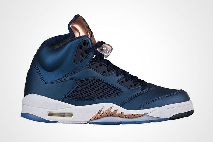 Air Jordan 5 Metallic Blue Bronze Thumb