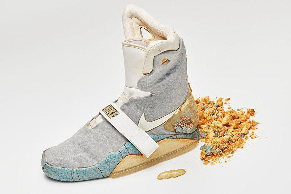 Nike Mag Og 1989 Crumbling Sole Shoezeum