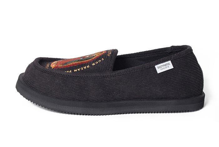 Wacko Maria Suicoke Deebo Shoes Patterened Lateral Side Shot