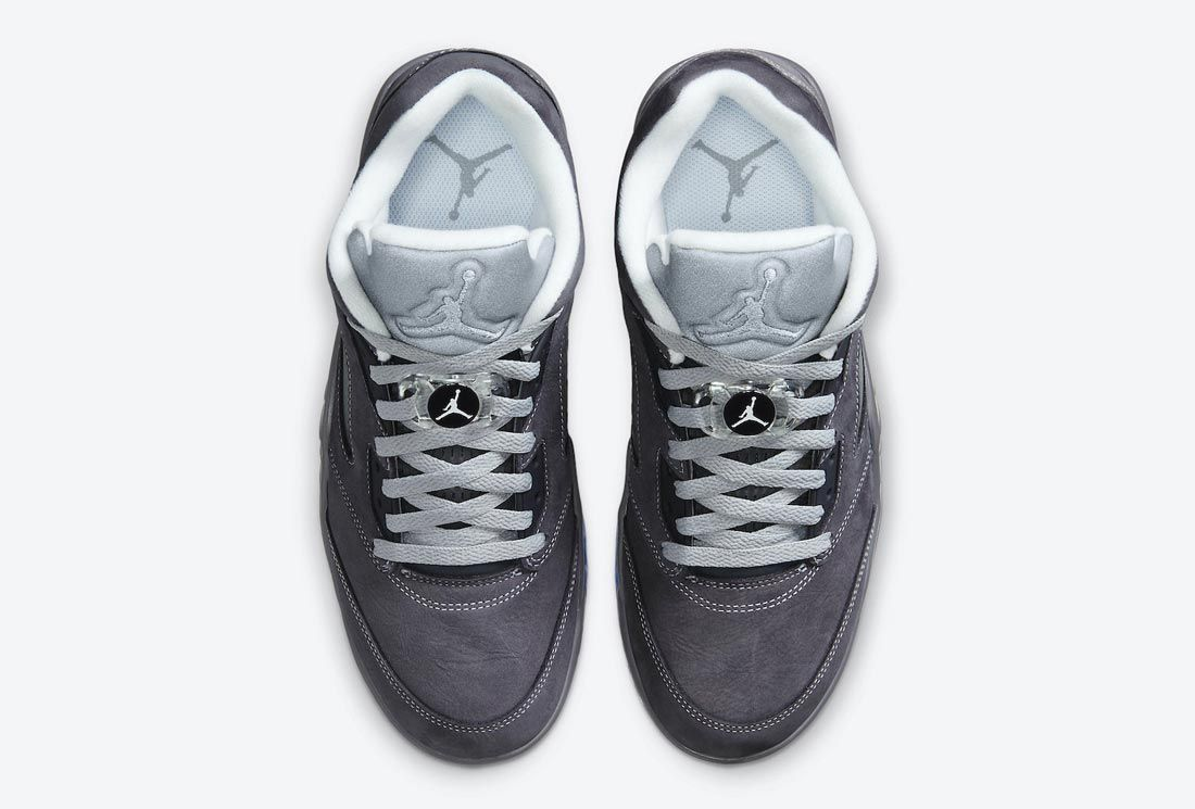 Air Jordan 5 Low Golf in 'Wolf Grey'