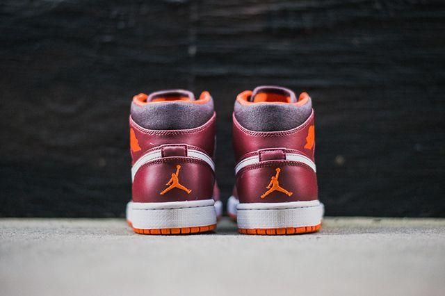 Air Jordan 1 Team Red Electric Orange 2