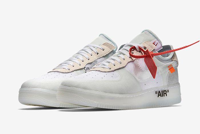 Virgil Abloh X Nike The Ten Sneaker Freaker 2