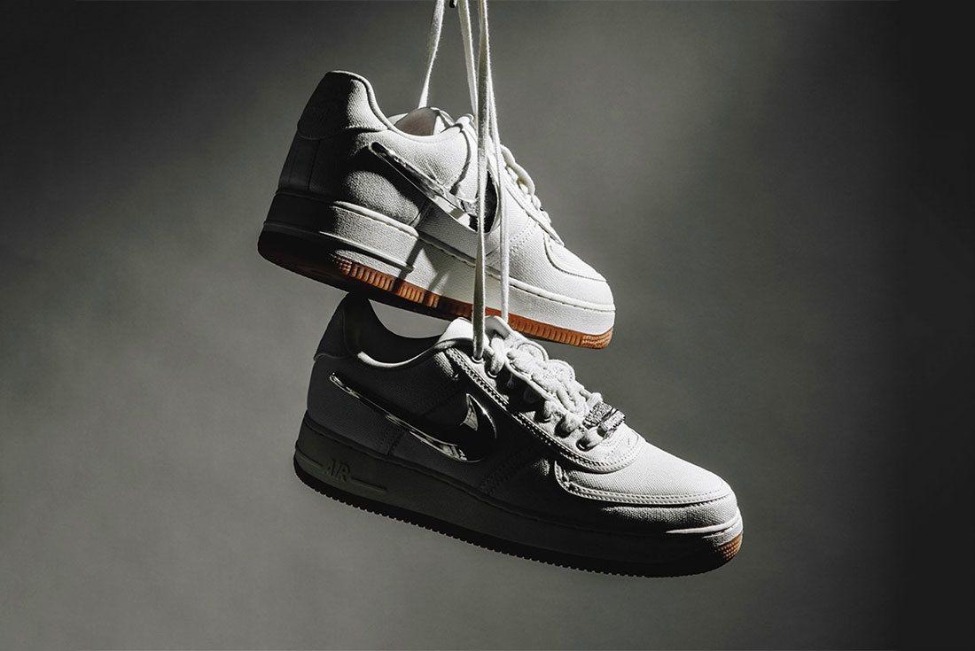 Travis Scott X Nike Sail Sneaker Freaker