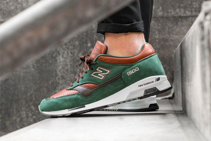 New Balance 1500 Green Brown Left