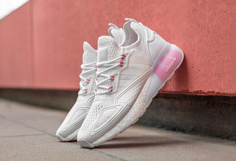 adidas ZX 2K BOOST (White/Pink)