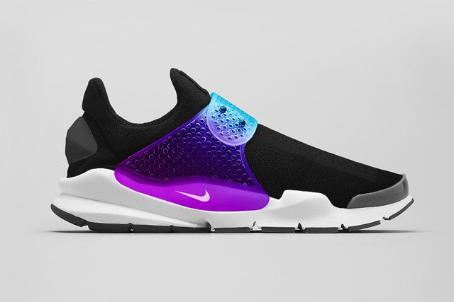 Nike Sock Dart Black Grape 2