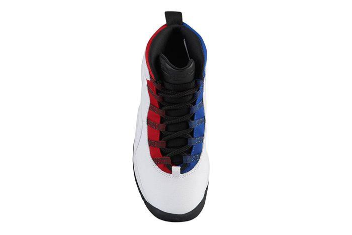Jordan 10 Red Blue 3