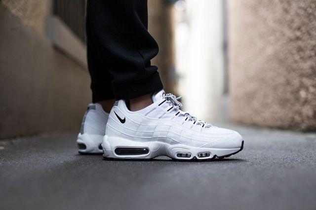Nike Air Max 95 Pure White Black 2