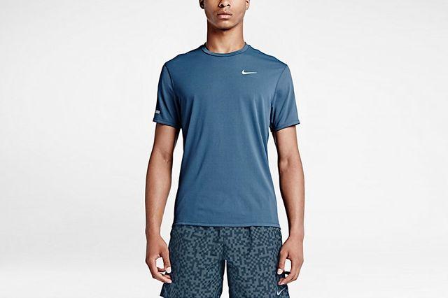 Nike Dri Fit Contour Performance Running Top 4