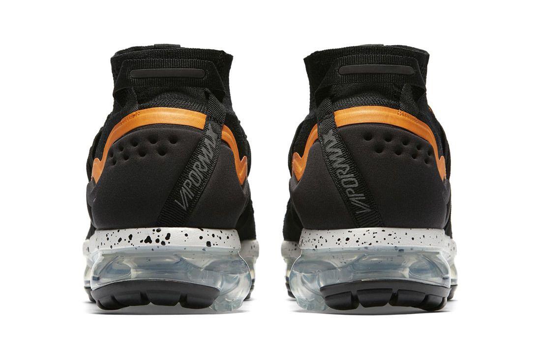 Nike Air Vapormax Utility Black Orange 3