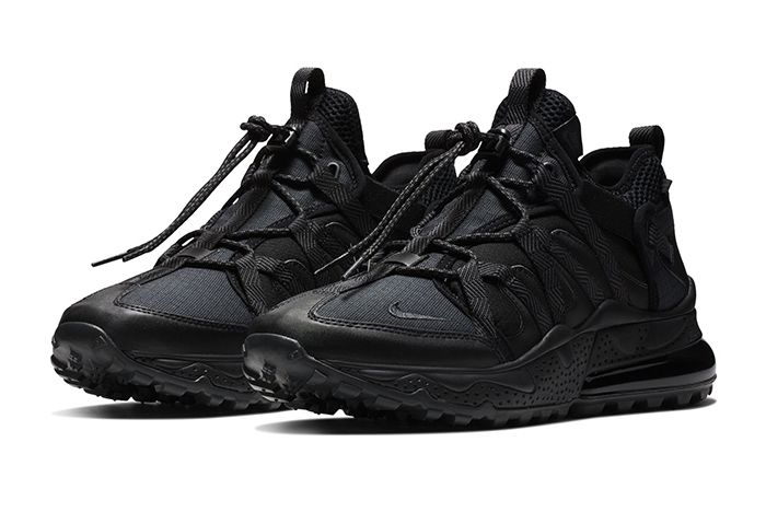 Nike Air Max 270 Bowfin Triple Black 1