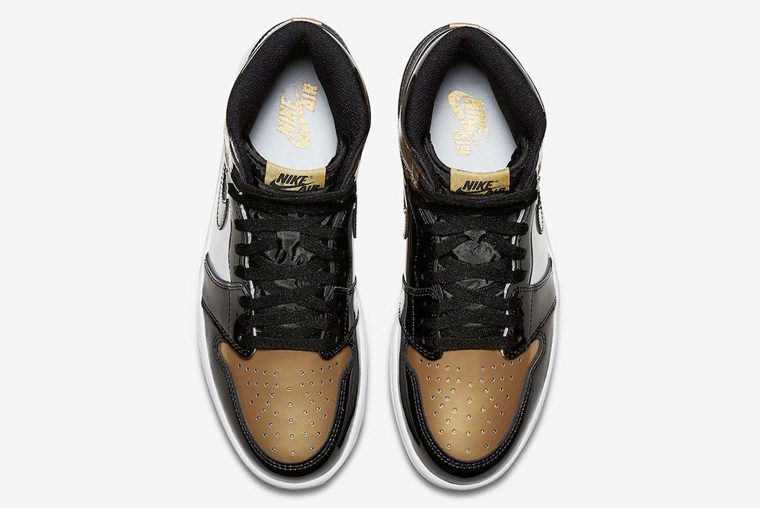 Gold Toe Air Jordan 1 861428 007 Sneaker Freaker 3