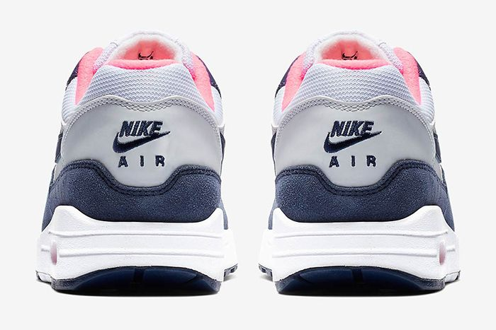 Nike Air Max 1 White Midnight Navy Pure Platinum 4