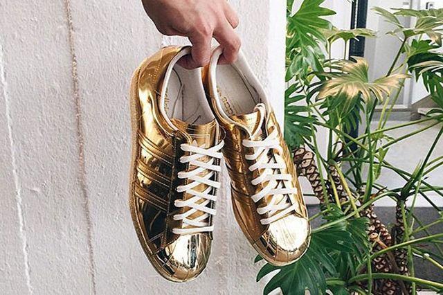 Adidas Superstar Liquid Metal Gold1