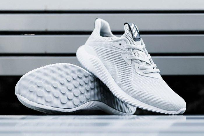 Adidas Alphabounce 1 M Grey White 1
